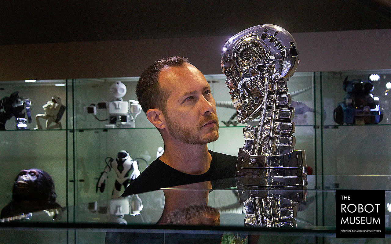 David Anfossi en The Robot Museum